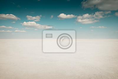 Pustynny krajobraz z chmury