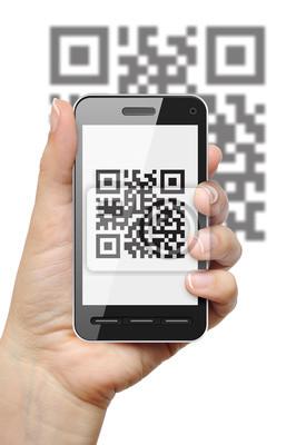 QR kod na telefon komórkowy