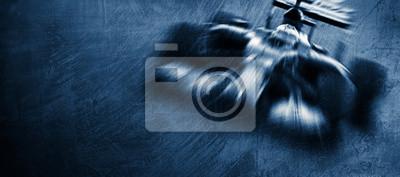 Fototapeta race car