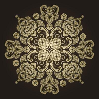 Fototapeta Radial geometryczny ornament