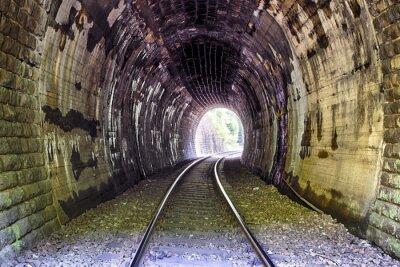 Fototapeta Railroad Tunnel - Harmanec, Słowacja