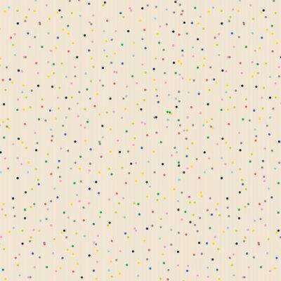 Fototapeta Random colorful dot background.