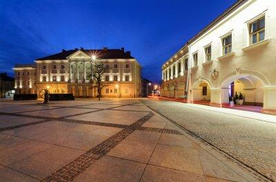 Fototapeta Ratusz na głównym placu Rynek Kielce, Polska Europa