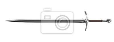 Fototapeta Realistyczne 3D render z mieczem