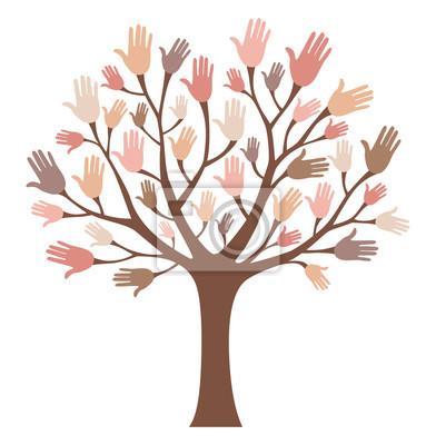 Ręce drzewo