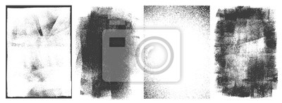 Fototapeta Rectangular retro frames set