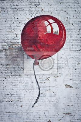 Fototapeta red baoon 1
