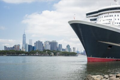 Fototapeta rejsy statkiem