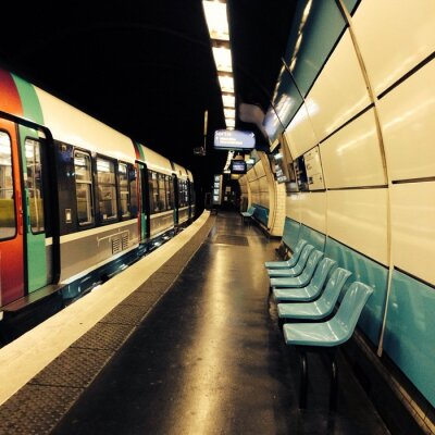 Fototapeta RER A Paryżu