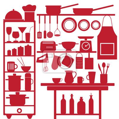 Restauracja i symbole związane z kuchni