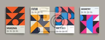 Fototapeta Retro obejmuje projekt graficzny. Fajne, zabytkowe kompozycje kształtu. Wektor Eps10.