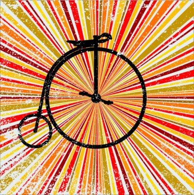 Fototapeta Retro rowerów