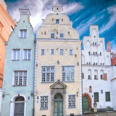 Fototapeta Riga Three Brothers 01