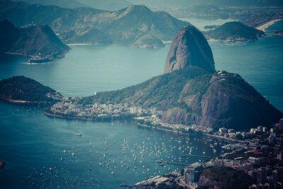 Fototapeta Rio de Janeiro, Brazylia. oglądany z Corcovado