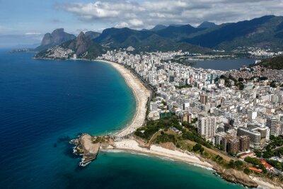 Fototapeta Rio de Janeiro - Ipanema - Copacabana