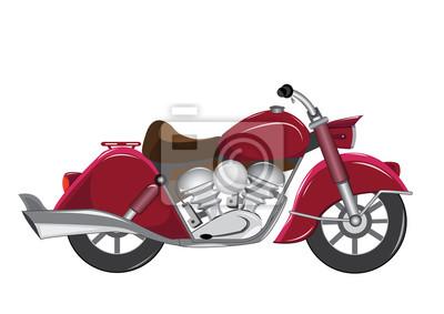 rocznika motocyklista centaur trasportation