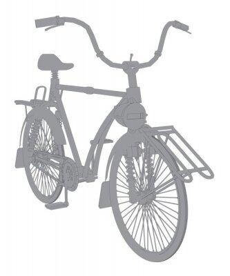 Fototapeta Rocznika rower