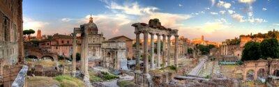 Fototapeta rome hdr widok panoramiczny
