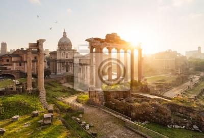Fototapeta Rome ruines forum Romain