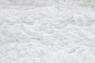 Fototapeta rough surface of white snow