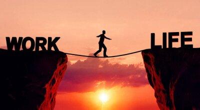 Fototapeta Równowaga życia zawodowego