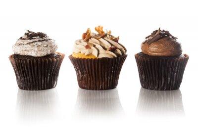 Fototapeta Różne Fancy Gourmet Cupcakes z lukier