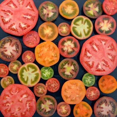 Fototapeta Różne odmiany pomidorów