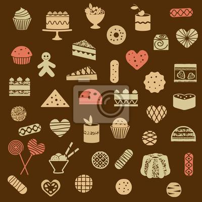 różne słodycze