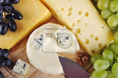 Różne typy sera