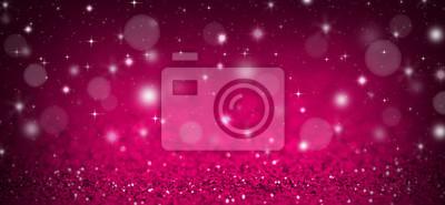 Fototapeta Różowe tło Boże Narodzenie