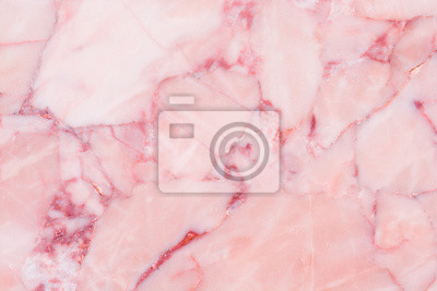 Fototapeta Różowy marmur tekstury tła
