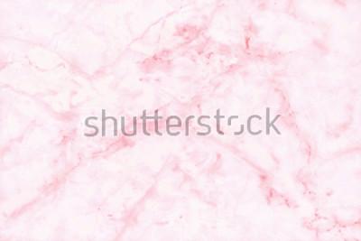 Fototapeta Różowy marmur tekstury tła w naturalnych wzorów o wysokiej rozdzielczości szczegółowe struktury jasne i luksusowe, bez szwu wzór z płytek kamiennych podłóg.