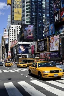Fototapeta Ruchu miejskim w Nowym Jorku