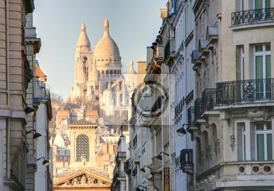 Fototapeta rue de paris