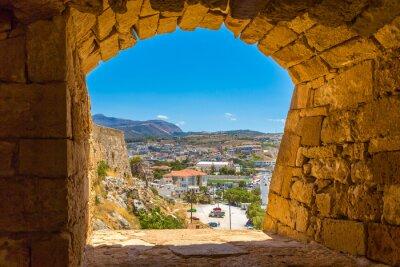 Fototapeta Ruiny starego miasta w Rethymno, Kreta, Grecja.