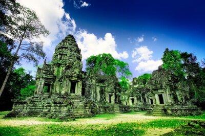 Fototapeta Ruiny świątyni w Azji Ankor Kambodży