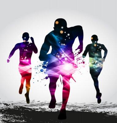 Fototapeta Running, Marathon