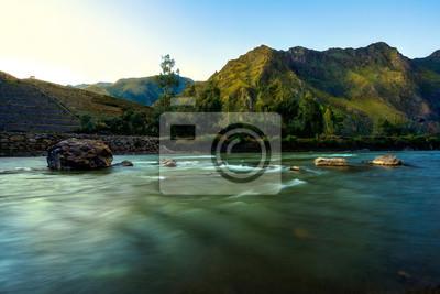 Rzeka, Andes, Peru