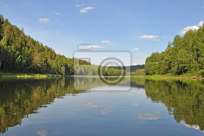 Rzeka Chusovaya