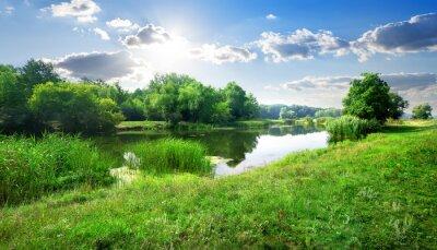 Fototapeta Rzeka krajobraz