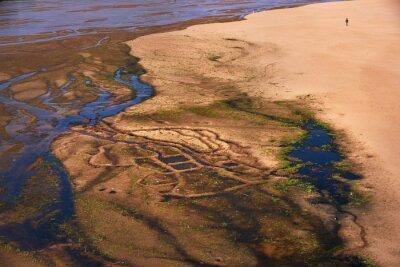 Rzeka, krajobraz, Madagaskar