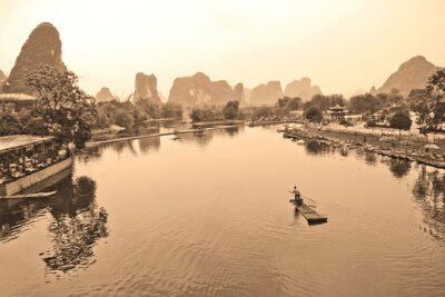 Fototapeta Rzeka Li, Chiny
