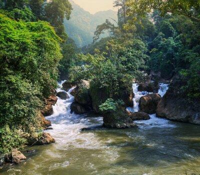 Fototapeta Rzeka w Wietnamie