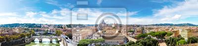 Fototapeta Rzym i Bazylika Świętego Piotra w Watykanie