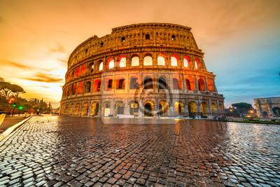 Fototapeta Rzym, Koloseum. Włochy.