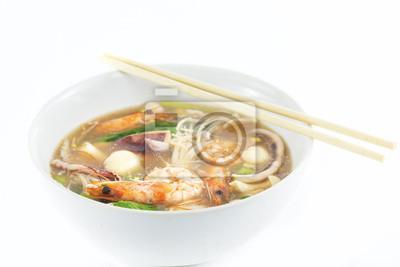 Fototapeta saefood zupa