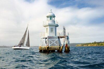 Fototapeta Sailing. Series yachts and ships