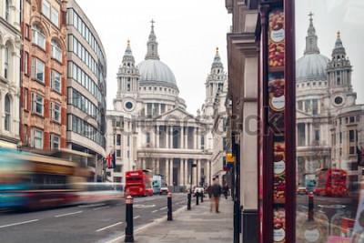 Fototapeta Saint Pauls katedra w zimowy dzień, Londyn