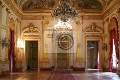 Fototapeta Salle des Fêtes, Palais Bourbon, Paryż, Francja +
