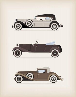 Samochód w stylu vintage